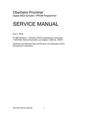 Oberheim Prommer Service Manual.pdf - Fdiskc