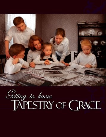brochure - Tapestry of Grace