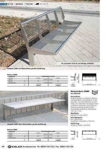 Ziegler Katalog Seiten 46 bis 47
