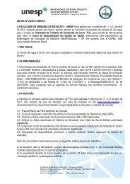 Edital Orientador de TCC - uab/fmb unesp