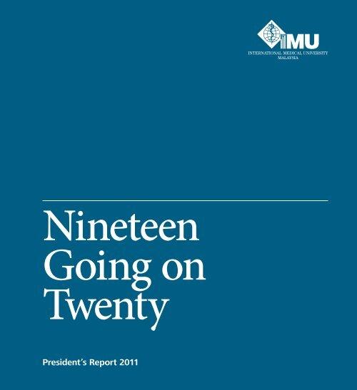 Nineteen Going On Twenty International Medical