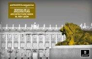 SEMANA DE LA ARQUITECTURA ARCHITECTURE WEEK EL REY ...