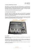 Manual - AEQ International - Page 7