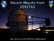 Recent Results from VERITAS
