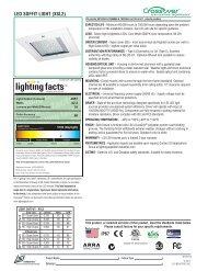 LED SOFFIT LIGHT (XSL2) - LSI Industries Inc.