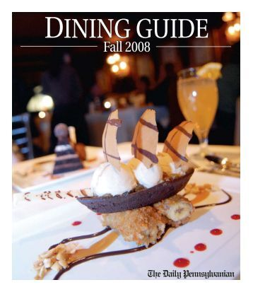1112 Dining Guide - University of Toronto Dynamic Graphics Project