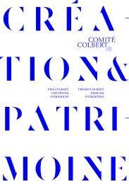 PRIX COLBERT CRÉATION& PATRIMOINE ... - Les Graphiquants