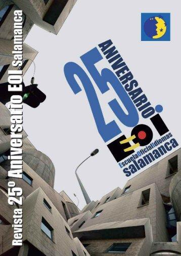 Revista 25 aniversario - eoi de salamanca - Junta de Castilla y León