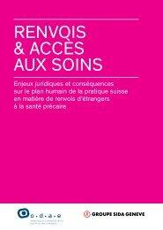 Renvois & accès aux soins - Groupe sida Genève