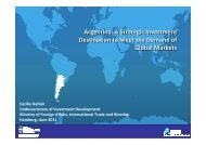 Argentina: A Strategic Investment Destination to Meet the Demand of ...