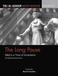 The Long Pause