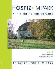 Hospiz Folio 2011 - Hospiz im Park