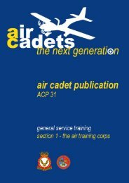 ACP 31 Volume 1 - 967 Air Cadets