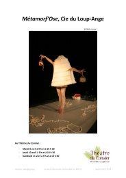 2013-2014 Métamorf'Ose DP (pdf - 635,67 ko) - Cormeilles-en-Parisis