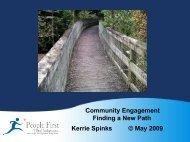 Community Engagement - Eastern Volunteers