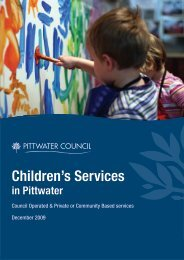 Children's Services - Pittwater Council - NSW Government