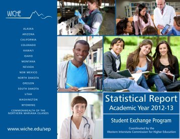 STUDENT EXCHANGE PROGRAMS Statistical Report ... - WICHE