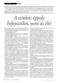 2004. augusztus - Színház.net - Page 3