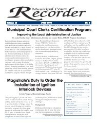July 2006 - Texas Municipal Courts Education Center