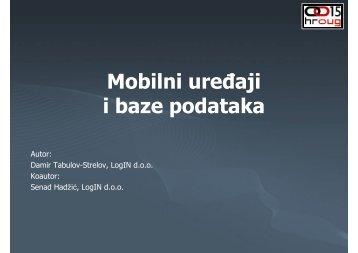 409_Tabulov-Strelov Hadžić Mobilni uredaji i DB.pdf - HrOUG