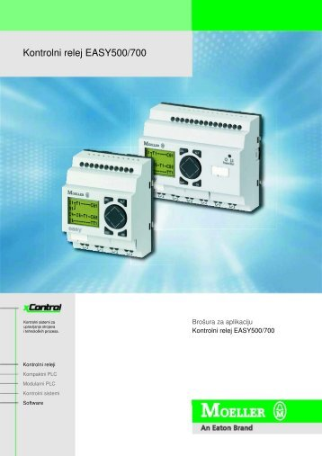Kontrolni relej EASY500/700