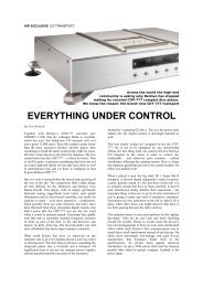 Reimyo CDT-777 Review! by Stereo Magazine, Germany: in English