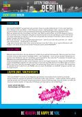 EVENT GUIDE Berlin - Color Run - Page 5