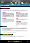 EVENT GUIDE Berlin - Color Run - Page 6