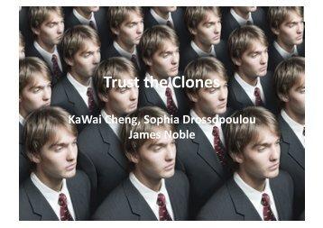 cloning - Program-Transformation.Org
