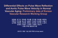 Differential Effects on Pulse Wave Reflection and Aortic Pulse Wave ...