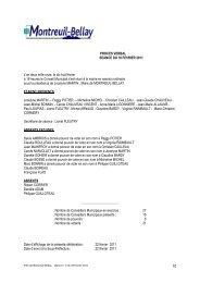 procès verbal du 18 février 2011 - Montreuil-Bellay