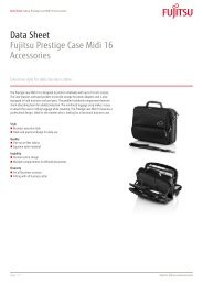 Data Sheet Fujitsu Prestige Case Midi 16 Accessories - Icecat.biz