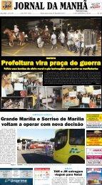 Prefeitura vira praça de guerra - Jornal da Manhã
