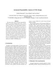 Automated Dependability Analysis of UML Designs - IEEE Xplore