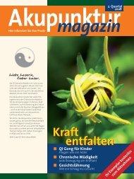 Akupunktur 2. Quartal 2008