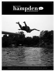 July 2011 (pdf) - Hampden Community Council