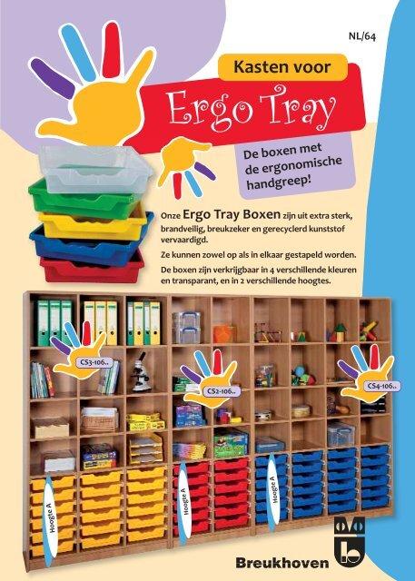 Kleurcode – Ergo Tray Boxen