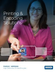 Printing & Encoding Solutions