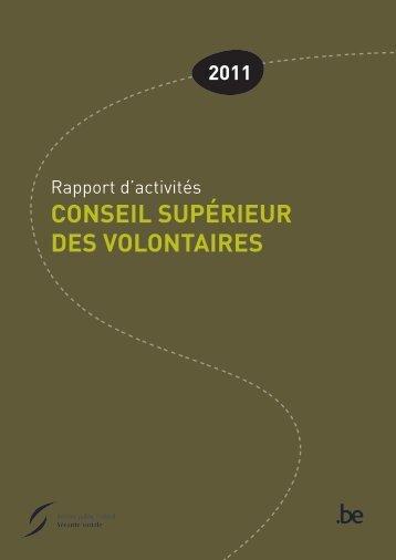 Rapport d'activités 2011 (.pdf) - FOD Sociale Zekerheid