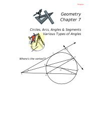 Two coplanar circles that intersect - What Not How