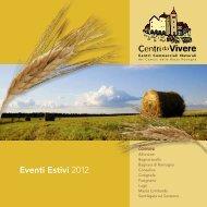 Eventi Estivi 2012 - Comune di Massa Lombarda
