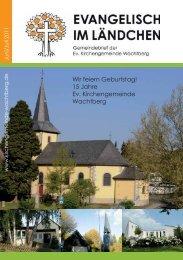 15 Jahre Ev. Kirchengemeinde Wachtberg - Evangelische ...
