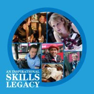 inspirational skills legacy booklet - People 1st