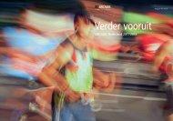 Verder vooruit - brochure beleid ARCADIS Nederland 2011-2013