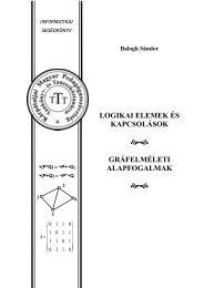 Logikai elemek és kapcsolások - Gráfelméleti alapfogalmak