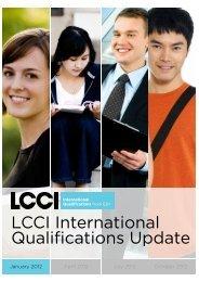 January 2012 - LCCI International Qualifications