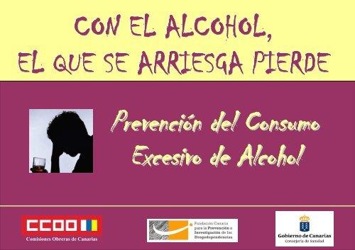 el alcohol - Gobierno de Canarias