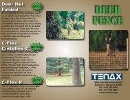 Deer Fence Brochure.indd - Hoover Fence