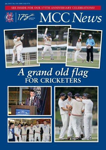 July 2013 edition - Melbourne Cricket Club