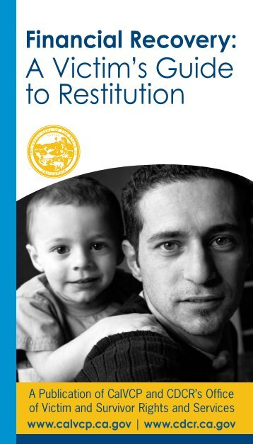 A Victim's Guide to Restitution - National Center for Victims of Crime